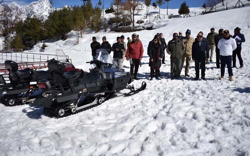 औली में 26 से 28 फरवरी तक होगा नेशनल अल्पाइन स्कीइंग प्रतियोगिता का आयोजन