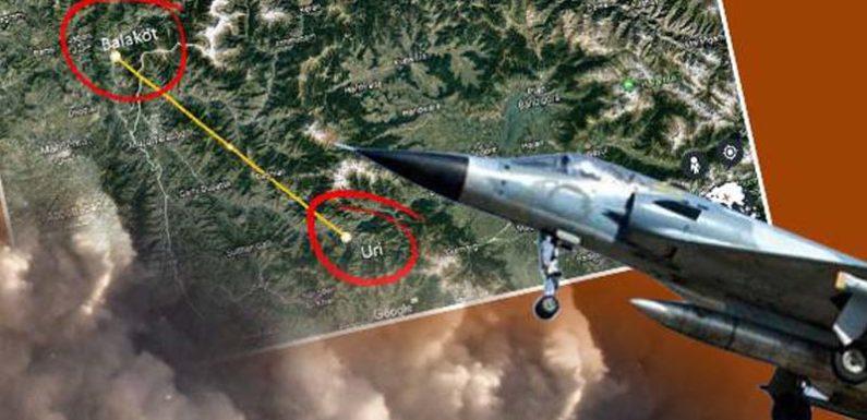 इन जगहों से 12 मिराज विमानों ने उड़ान भरकर पाकिस्तान की सीमा में बरसाए बम
