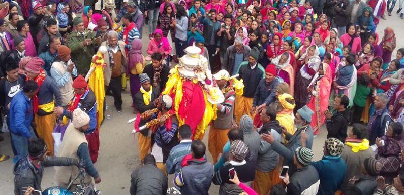 भगवान तुंगनाथ की डोली ने पोखरी नगर किया भ्रमण श्रध्दालु ने मांगी मनौतियां