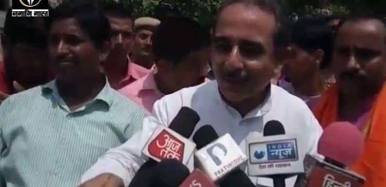 राहुल का 2 चुनाव क्षेत्रों से लड़ना ही उनकी हार है-कीर्तिवर्धन सिंह