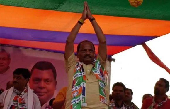देश को सुरक्षित सिर्फ नरेंद्र भाई मोदी ही रख सकते हैं -रघुवर दास