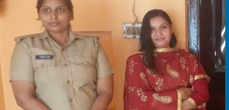 बांग्लादेश की रूक्साना पुलिस के साथ पहुंची पति के घर