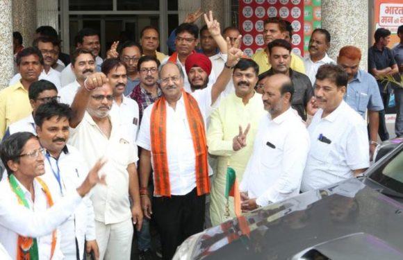 लोकसभा चुनाव में भारतीय जनता पार्टी की ऐतिहासिक जीत पर बृजमोहनअग्रवाल की प्रतिक्रिया