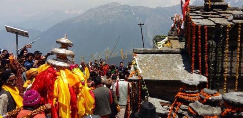 ग्रीष्मकाल के लिए खोल दिये गये तृतीय केदारभगवान तुगनाथ के कपाट