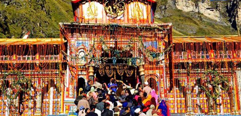 बद्रीनाथ एवं हेमकुण्ड साहिब की यात्रा पर तीर्थयात्रियों का उमडा सैलाब