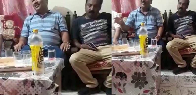 पत्रकार पर फर्जी आरोप लगाने के बाद भू-माफिया मुकेश अग्रवाल ने हांथ जोड़कर मांगी माफी,देखें वीडियो