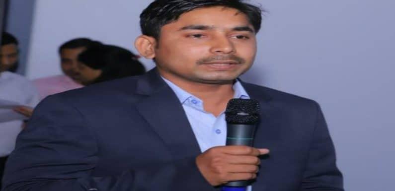 नायब तहसीलदार संजय पांडेय का डी पी आर ओ के पद पर हुआ चयन
