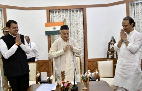 महाराष्ट्र में बड़ा उलटफेर: देवेंद्र फडणवीस फिर बने मुख्यमंत्री,अजित उपमुख्यमंत्री