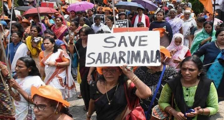 पुरुष अधिकार कार्यकर्ताओं ने सबरीमल मंदिर में तृप्ति देसाई के प्रवेश के निर्णय की कड़ी निंदा की