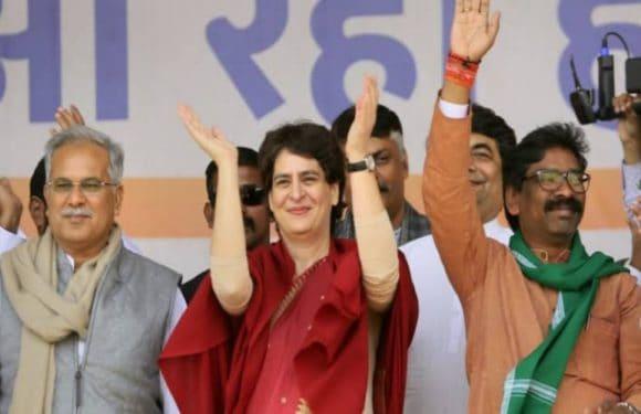 झारखंड विधानसभा चुनाव में जेएमएम कांग्रेस गठबंधन सरकार का जोरदार आगाज