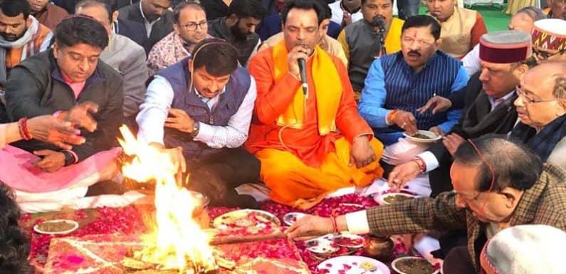 सीलमपुर में आगजनी आम आदमी पार्टी की साजिश है – मनोज तिवारी