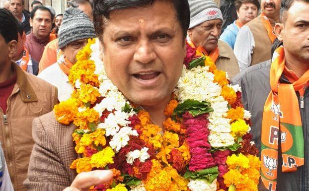 दिल्ली चुनावः कस्तूरबा नगर से रविंद्र चौधरी ने संभाली बीजेपी की कमान