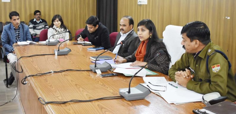 विधानसभा बजट सत्र को लेकर जिला प्रशासन की तैयारी शुरू