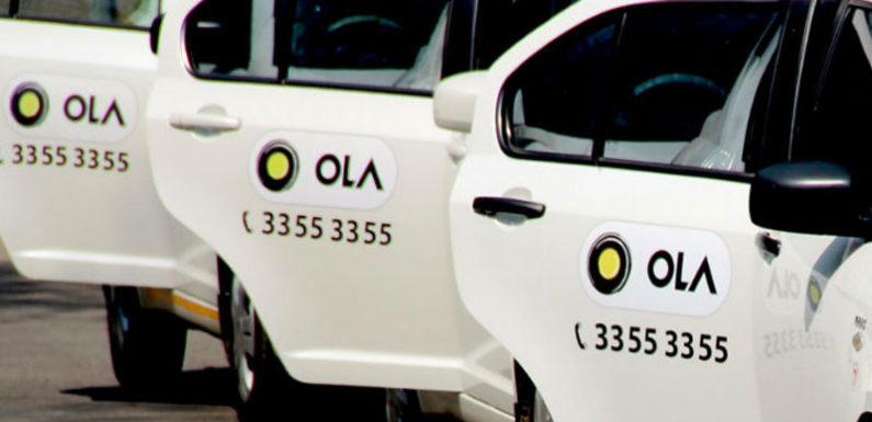 ड्राइवरों को राहत देने के लिए ओला ने शुरू किया 'ड्राइव द ड्राइवर फंड