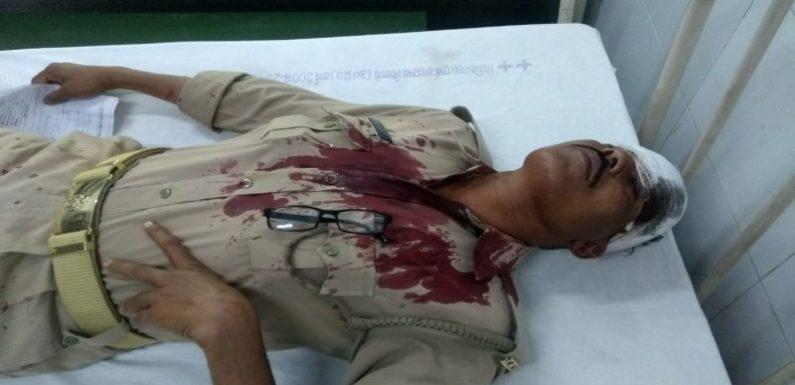 कन्नौज में नमाजियों ने पुलिस पर किया हमला