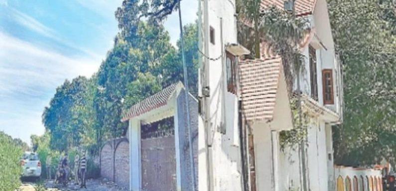 साद की खोज में दिल्ली क्राइम ब्रांच का उसके शामली स्थित फार्म हाउस पर छापा
