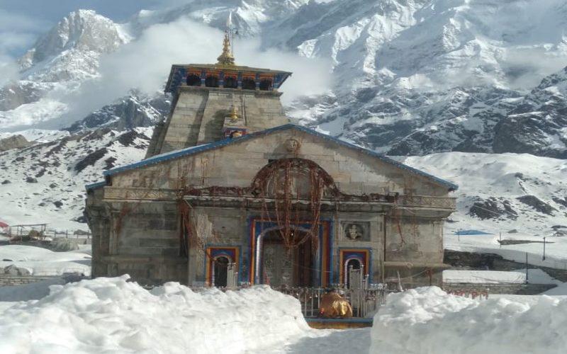नियत तिथि 29 अप्रैल प्रात: 6.10 बजे को ही खुलेंगे श्री केदारनाथ मंदिर के कपाट