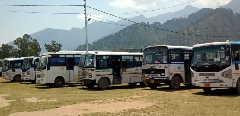 764 प्रवासी 43 बसों से देहरादून और हरिद्वार से चमोली के लिए रवाना