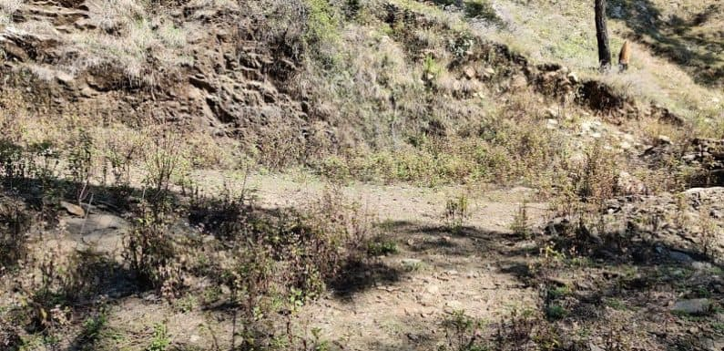 दस वर्ष बाद भी  आली कांण्डई – लंगासू मोटर मार्ग निमार्णाधीन