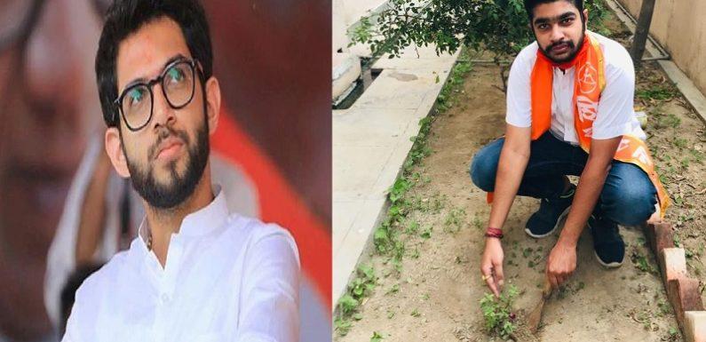अयोध्याः आदित्य ठाकरे के जन्मदिवस पर शिवसैनिकों ने लगाया हजारों पेड़