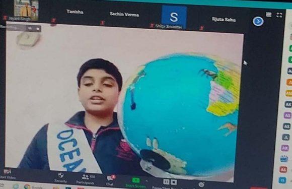 सी.एम.एस. छात्रों द्वारा 'वल्र्ड यूनिटी प्रेयर' का ऑनलाइन  आयोजन