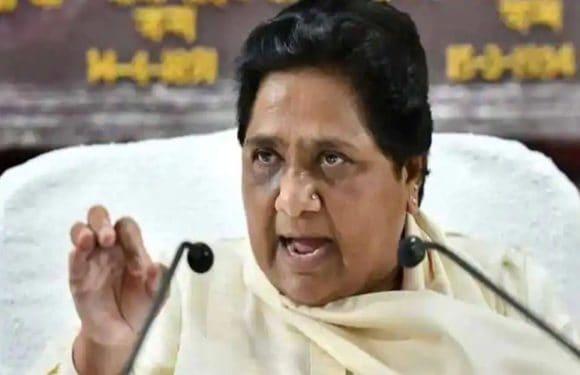 दलितों की हत्या पर मायावती ने जताई नाराजगी