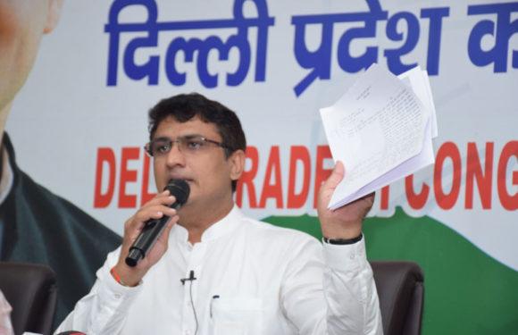 गरीब लोगों की बर्बादी के लिए केजरीवाल और भाजपा जिम्मेदार है – अनिल कुमार