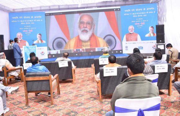 बद्रीनाथ धाम में बने सीवरेज ट्रीटमेंट प्लांट का प्रधानमंत्री ने किया लोकापर्ण