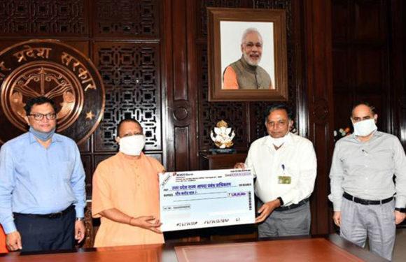 एनसीएल ने 50 एम्बुलेंस खरीदने के लिए उत्तर प्रदेश को दिए 5 करोड़ रुपये