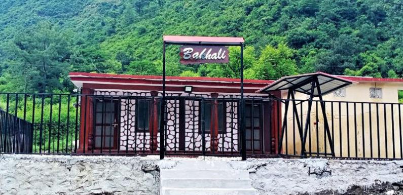 चमोली के जिलासू में पहाडी शैली में पहला सरकारी होम स्टे ''बाखली'' तैयार
