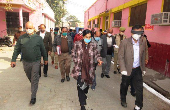 सीतापुर : नोडल अधिकारी श्रीमती मिनिस्ती एस0 ने निरीक्षण कर दिए निर्देश