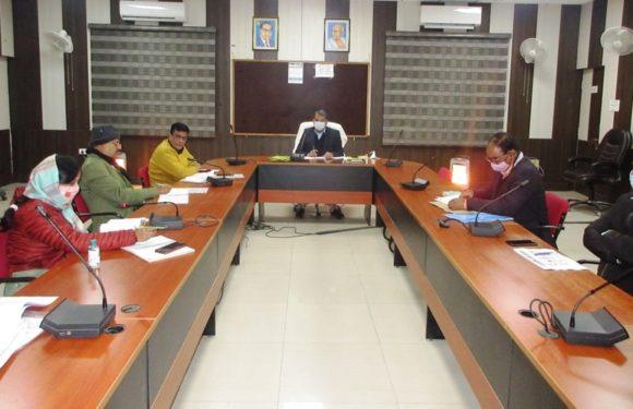 सीतापुर : जिलाधिकारी विशाल भारद्वाज ने बैंकों को दिए निर्देश, योजनाओं का जनता को मिले पूरा लाभ