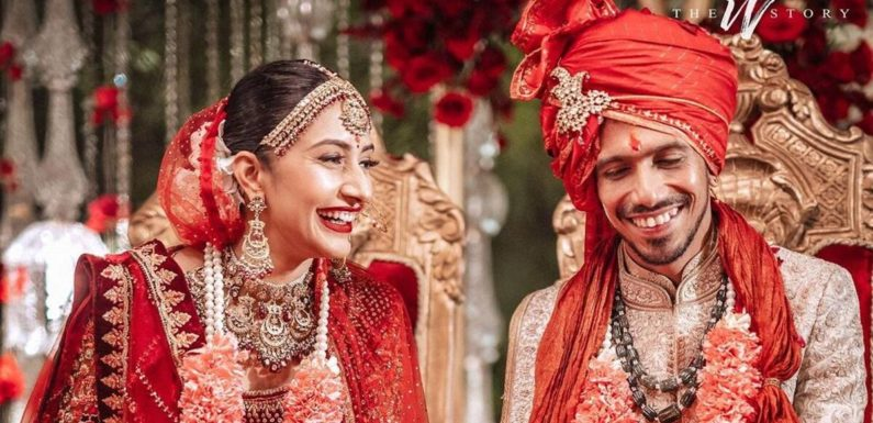 भारतीय गेंदबाज़ युजवेंद्र चहल ने रचाई शादी, मंगेतर धनश्री बनी जीवनसाथी