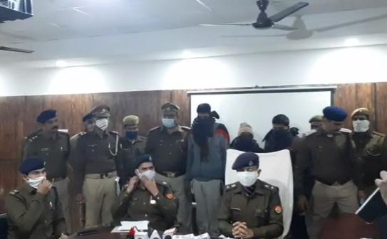 गोण्डा : रेलवे सिंग्नल केबल चोरों को पुलिस ने किया गिरफ्तार