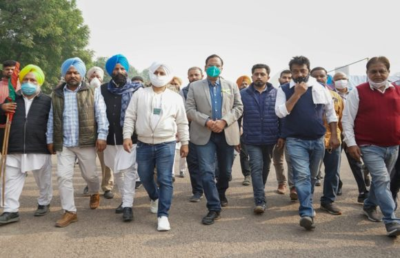 आम आदमी पार्टी पूरी तरह से किसानों के साथ-सतेंद्र जैन