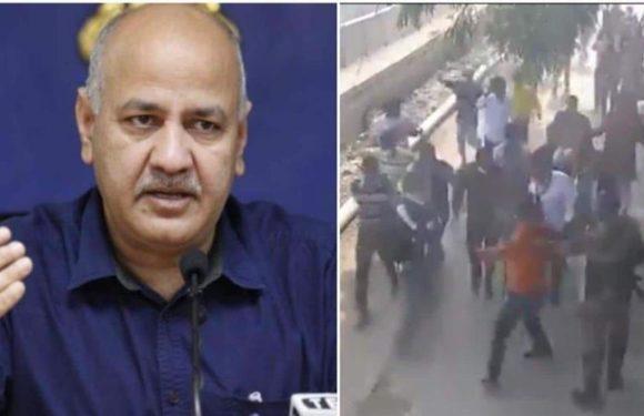 दिल्ली उपमुख्यमंत्री की गैर मौजूदगी में उनके घर पर हमला