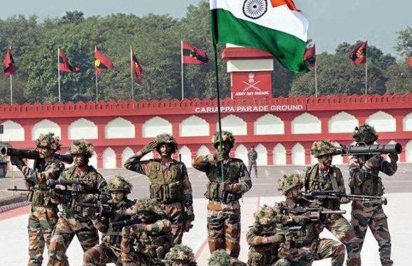 भारतीय सेना आज मना रही है अपना 73वां स्थापना दिवस