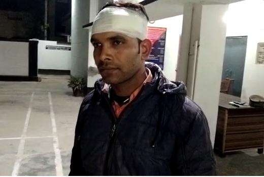 अमेठी :  खबर कवरेज करने पहुंचे पत्रकार पर जानलेवा हमला