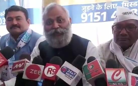 अमेठी : पूर्व पर्यटन मंत्री शोभनाथ भारती ने दिया विवादित बयान