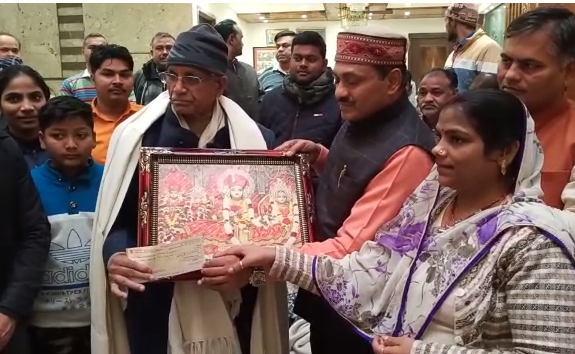 अमेठी : राजेश मसाला ने राम मंदिर निर्माण के लिए दिए 1 करोड़ 25 लाख रुपए