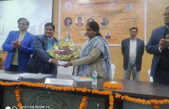स्वावलंबी भारत की पहचान नई शिक्षा नीति में समाहित -राज्यमंत्री नीलिमा कटियार