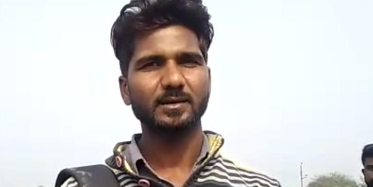 जालौन : दबंगो ने बस को रोककर ड्राइवर और कन्डक्टर के साथ की मारपीट