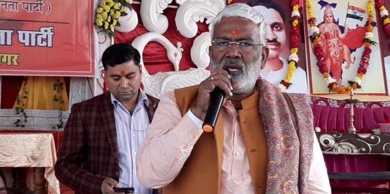 झाँसी : BJP प्रदेश अध्यक्ष ने किसान आंदोलन पर साधा निशाना