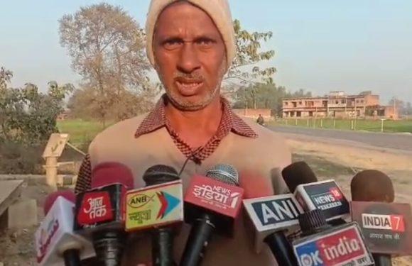 सिद्धार्थनगर : धान क्रय केंद्र पर किसानों ने किया प्रदर्शन