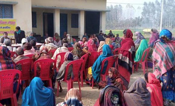 गोरखपुर : विधिक साक्षरता शिविर का आयोजन कर लोगों को किया जागरूक