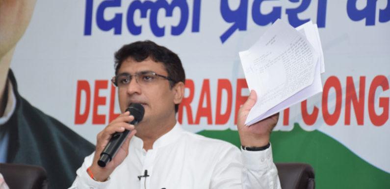 दिल्ली : चौ0 अनिल कुमार ने अरविन्द सरकार पर साधा निशाना