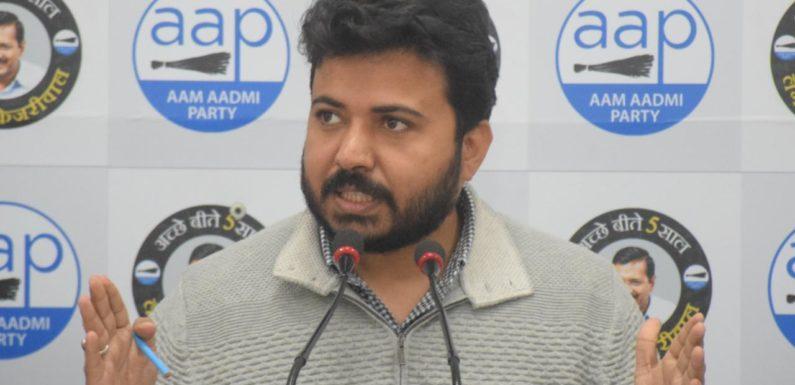 भाजपा नेताओं की ठेकेदारों और कम्पनी से सांठगांठ है -दुर्गेश पाठक