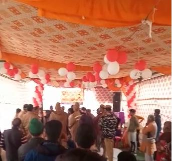 बिजनौर : भागवत कथा में दबंगो ने मचाया उत्पात
