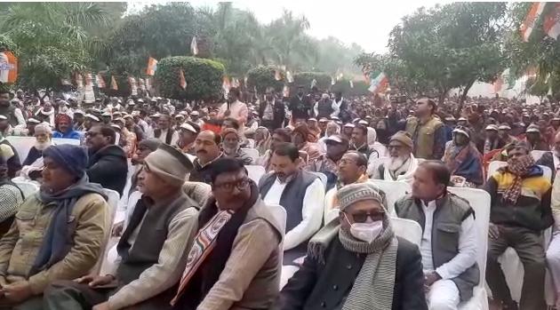 अमेठी – कांग्रेस एमएलसी दीपक सिंह का कृषि बिल पर बयान