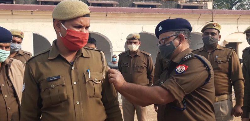 झाँसी : 110 सिपाही अब मुख्य आरक्षी के पद पर प्रोन्नत